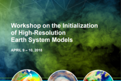 DOE and NOAA Issue Report on the Workshop on the Initialization of High-Resolution Earth System Models