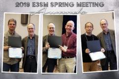 2019 E3SM Spring Awards
