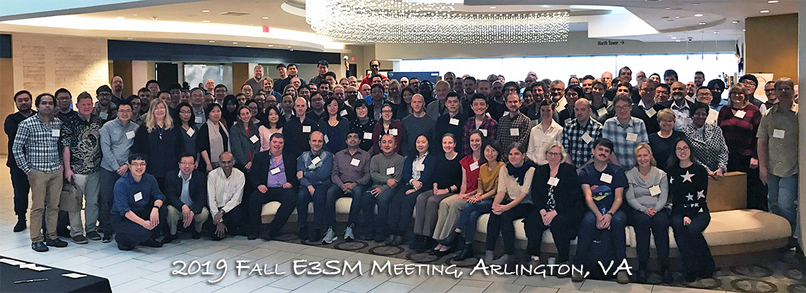 Group Photo - 2019 Fall E3SM Meeting