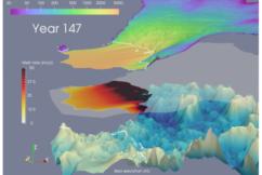 Ocean Temperature Variability Causes Delays in Glacier Retreat