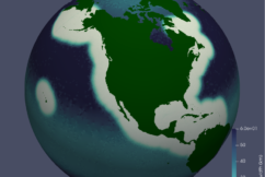 MPAS‐Ocean Simulation Quality for Variable‐Resolution North American Coastal Meshes