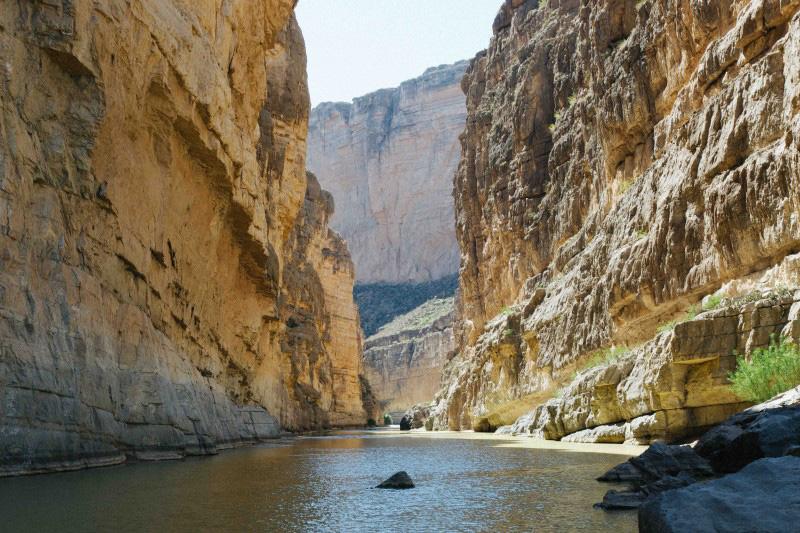 Image of canyon erosion
