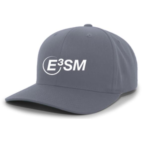 Front view of E3SM baseball cap