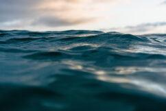 Photo of air-ocean interface